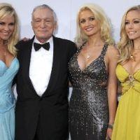 Hugh Hefner fiancé ... Crystall Harris lui fait oublier la polygamie