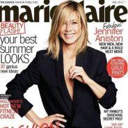 Jennifer Aniston so hot ... presque nue en couverture de Marie-Claire US