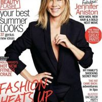 Jennifer Aniston so hot ... presque nue en couverture de Marie-Claire US
