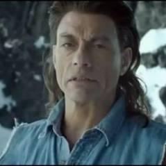 Jean Claude Van Damme VIDEO ... vendeur de bière en montagne