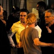 Robert Pattinson : toujours hot sur le tournage de Cosmopolis (PHOTO)