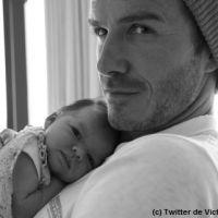 PHOTO - David Beckham : in love de sa fille Harper