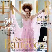 PHOTO - Vanessa Paradis : Elle fait la une du magazine Russe Tatler