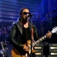 Lenny Kravitz : Rock Star City Life en live chez Jimmy Fallon (VIDEO)
