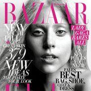 PHOTO - Lady Gaga au naturel : Exit le maquillage en couv' de Harper's Bazaar