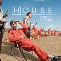 PHOTO - Dr House saison 8 : Hugh Laurie en prison ... la preuve avec le poster promo