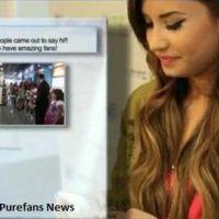Demi Lovato : son émouvante rencontre avec ses fans de Twitter (VIDEO)