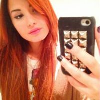 Demi Lovato a les cheveux ... rouges (PHOTO)