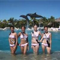 Miss France 2012 : les Miss sont au Mexique et profitent (VIDEOS)