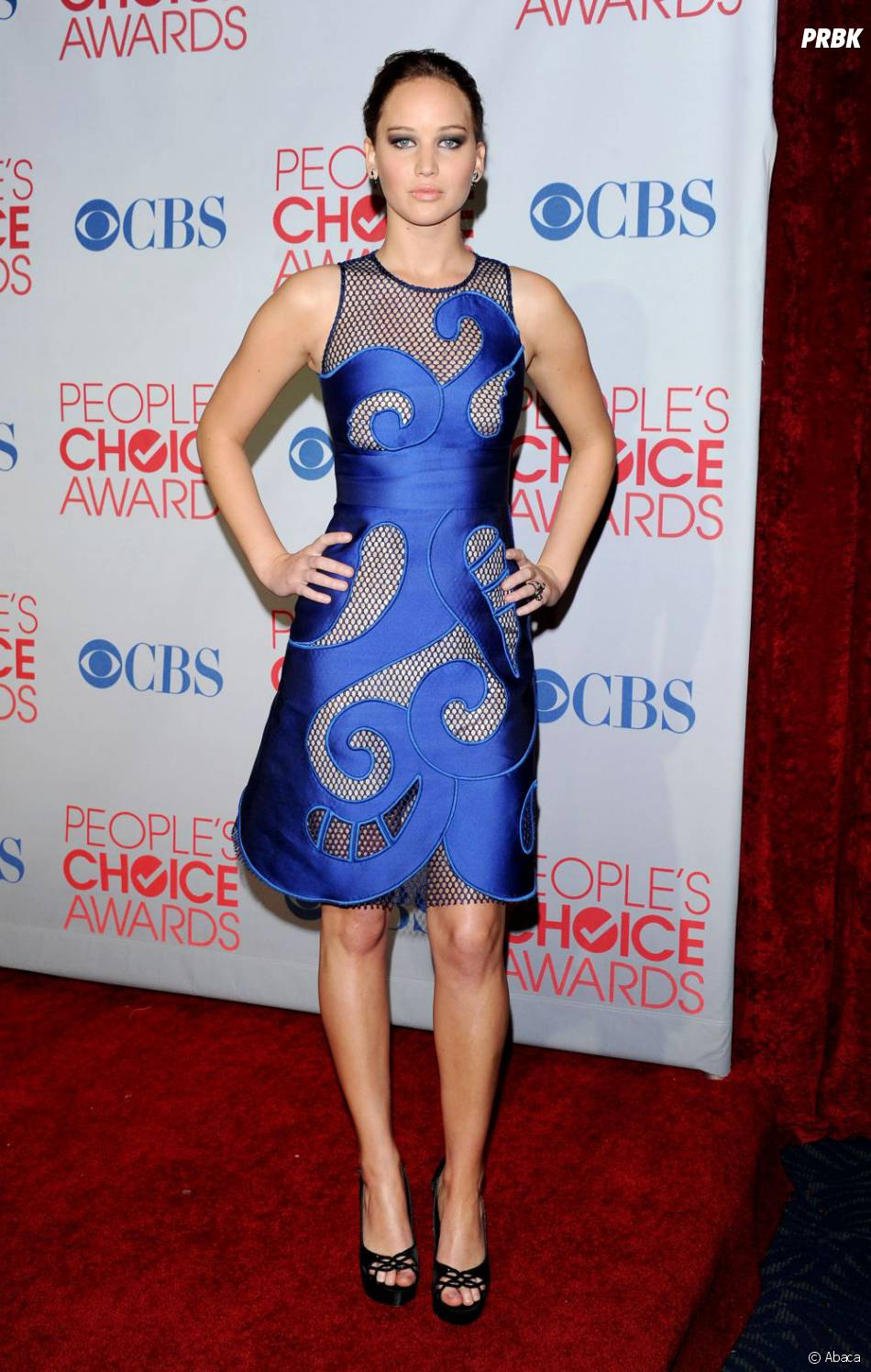 Jennifer Lawrence aux People's Choice Awards 2012