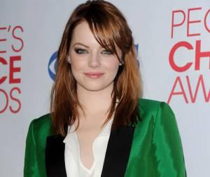Emma Stone ose le vert aux People's Choice Awards