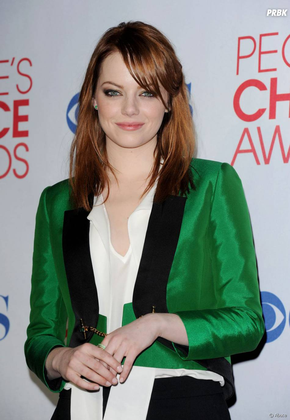 Emma Stone ose le vert aux People's Choice Awards
