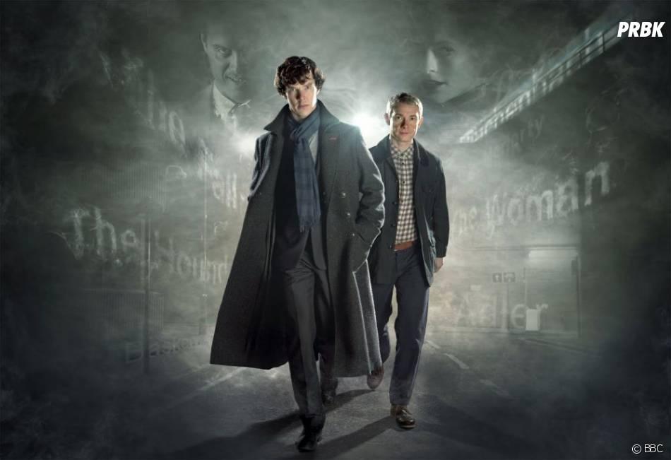 Sherlock avec Benedict Cumberbatch et Martin Freeman