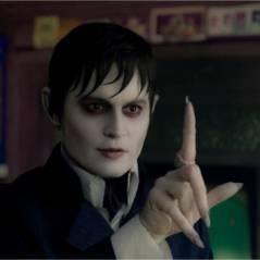 Johnny Depp en vampire pour Dark Shadows : Tim Burton montre enfin son visage (PHOTO)