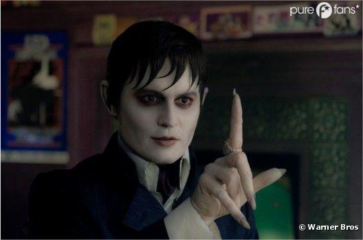 Johnny Deep prend son rôle de vampire très à coeur
