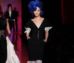 Défilé Gaultier rendant hommage à Amy Winehouse