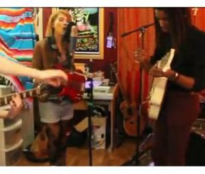 Hayley Kiyoko en tournage de son clip