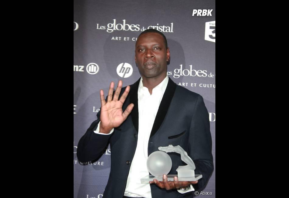 Omar Sy a reçu le Prix du Meilleur acteur aux Globes de Cristal 2012