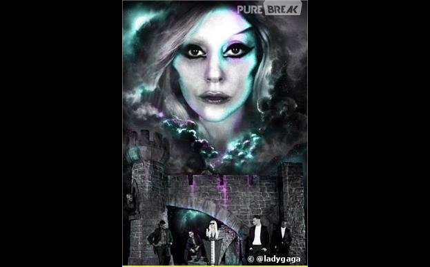 Le premier poster officiel du Born This Way Ball 2012-2013 de Lady Gaga