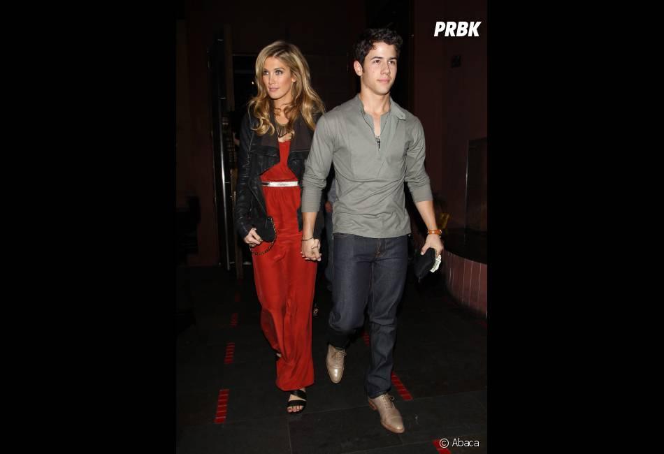 Nick Jonas et sa petite-amie, Delta Goodrem