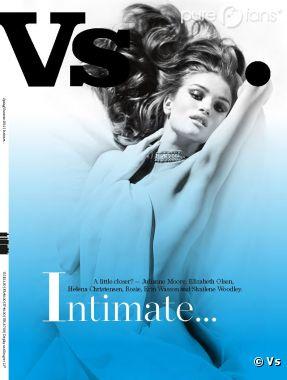 La couverture du magazine version Rosie Huntington-Whiteley
