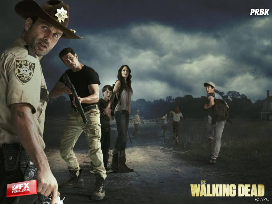 Les personnages de The Walking Dead