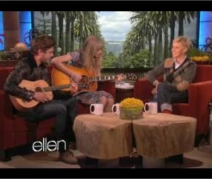 Taylor Swift et Zac Efron avaient préparé une petite surprise pour Ellen Degeneres