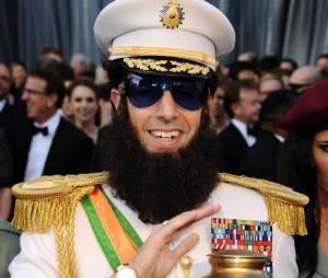 Sacha Baron Cohen version The Dictator aux Oscars 2012