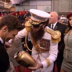 Oscar 2012 : Sacha Baron Cohen, le dictateur en mode provocateur ! Fail (VIDEO)