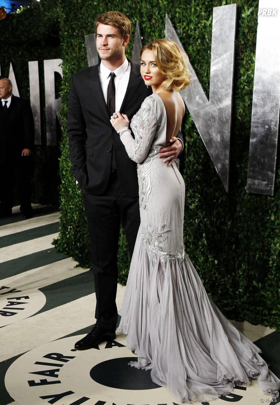 Miley Cyrus et son Liam à la soirée Vanity Fair