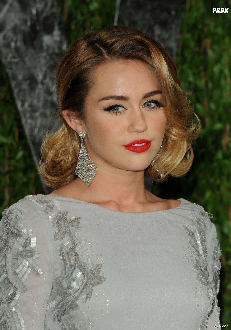 Miley Cyrus, on adore son maquillage