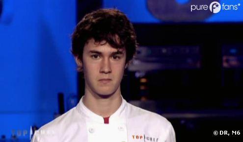 Ruben triste après son élimination de Top Chef