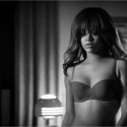 Rihanna pour Armani : sexy et à moitié nue ! (VIDEO)