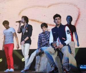 One Direction, le phénomène du moment sur scène