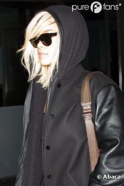 Rihanna arrive à New York