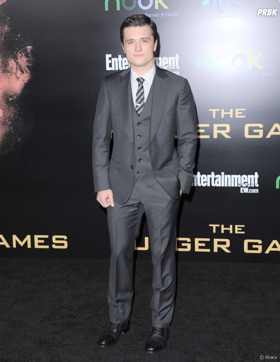 Josh Hutcherson a misé sur le gris