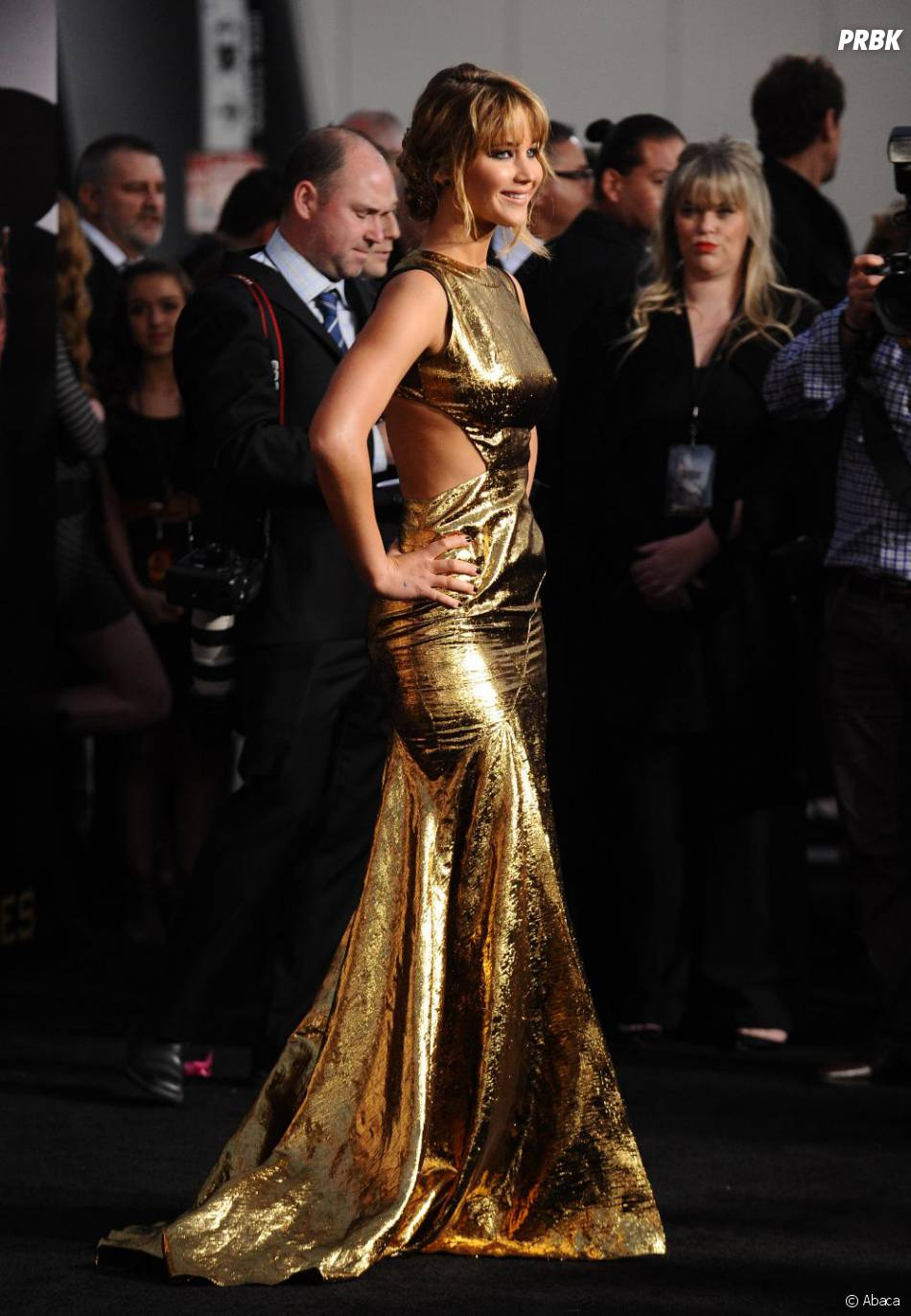 On adore la tenue de Jennifer Lawrence