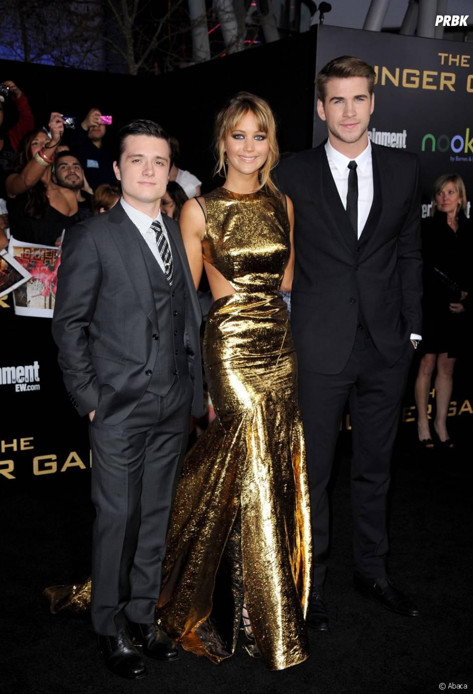 Le trio d'Hunger Games au top