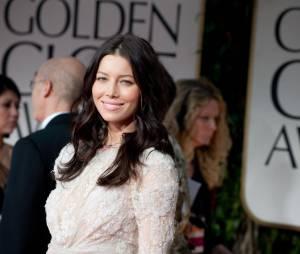 Jessica Biel aux Golden Globes