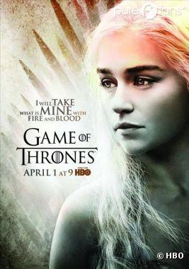 Daenerys Targaryen sur un nouveau poster de Game of Thrones