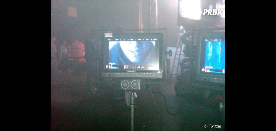 Une photo du tournage de Boyfriend !