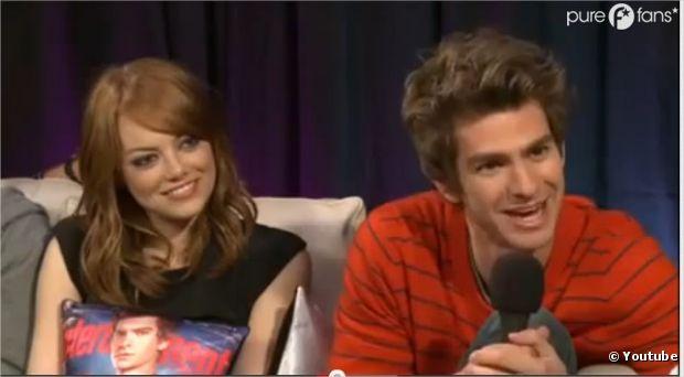 Emma Stone c'est la belle vie avec Andrew Garfield