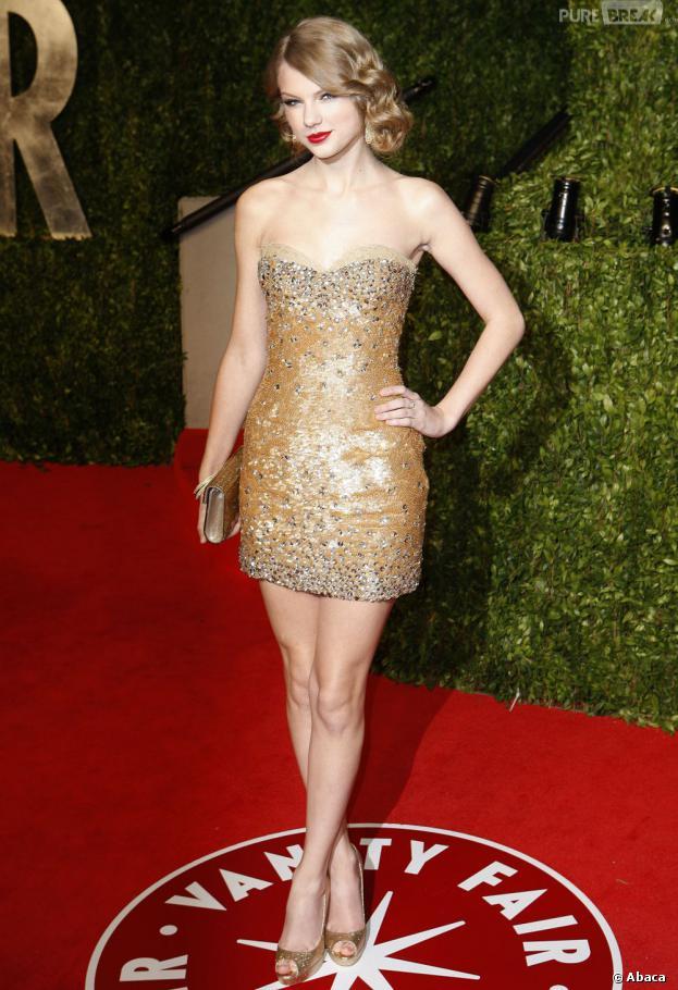 Taylor Swift glamour à souhait