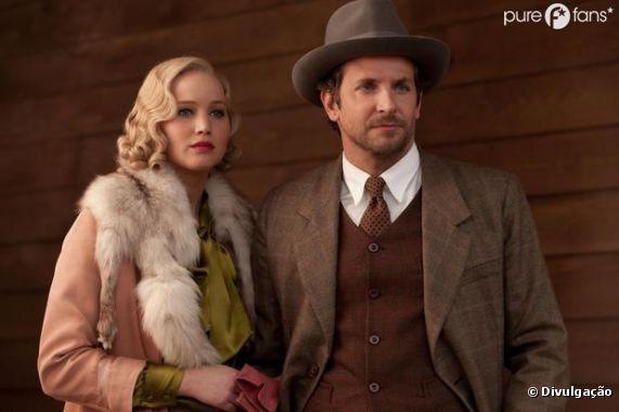 Jennifer Lawrence et Bradley Cooper dans Serena