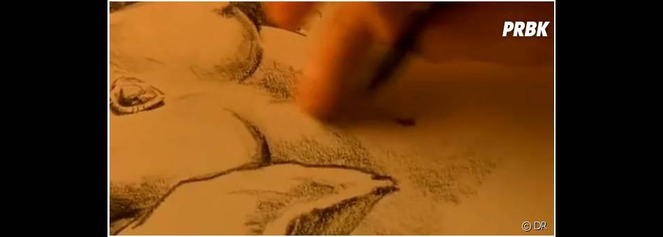 Dans Titanic, Jack dessine Rose nue