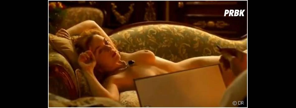 Kate Winslet dévoile ses atouts dans Titanic