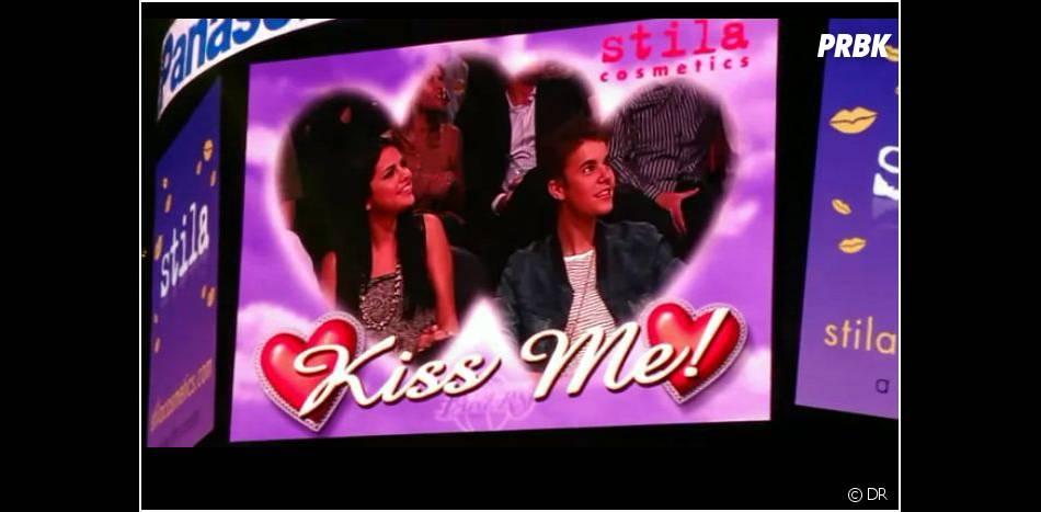 Justin et Selena ont été repérés par la caméra !