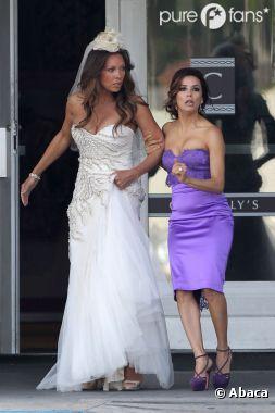 Les actrices de Desperate Housewives sur le tournage du dernier épisode