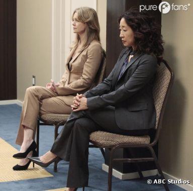 Cristina et Meredith en pleine concentration
