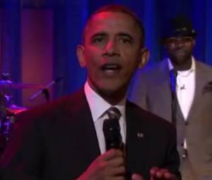 Barack Obama slam chez Jimmy Fallon